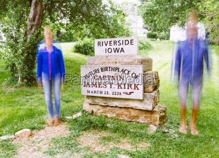 stati uniti damerica iowa riverside memorial