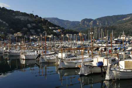 spain view of sailing boats in