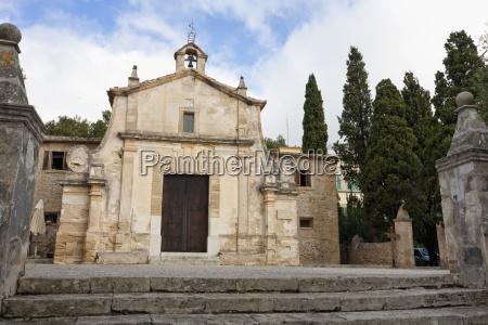 spain mallorca view of church el