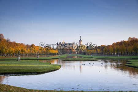 germany schwerin schwerin palace and lake