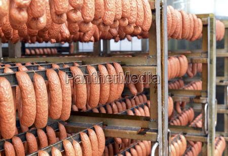 industria germania produzione salsiccia fotografia foto