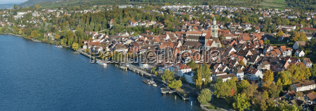 germany baden wurttemberg uberlingen and lake