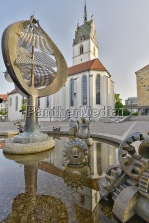 germany baden wuerttemberg friedrichshafen buchhorn fountain
