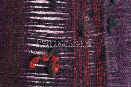 lana porpora fotografia foto confortevole tessile