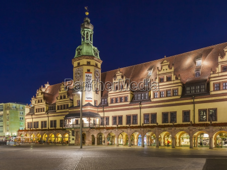 germany saxony leipzig old town hall