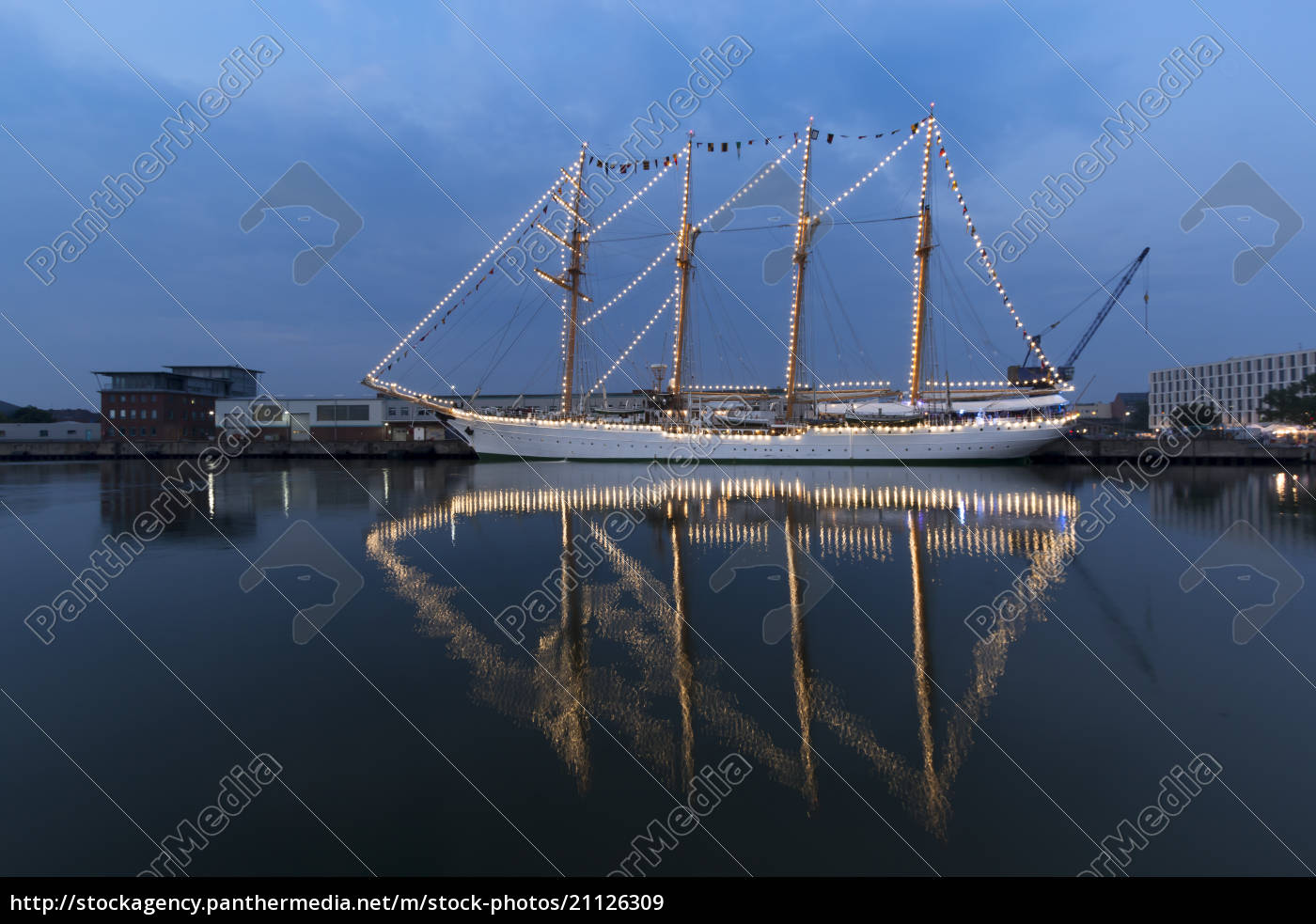 germania, bremerhaven, veliero, alla, vela, 2015 - 21126309