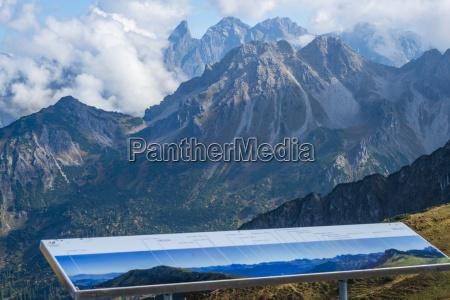 germany allgaeu view over stillach valley