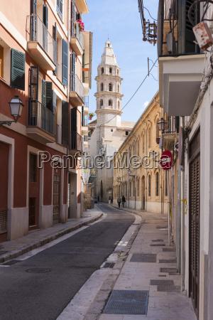 spain mallorca palma view of the