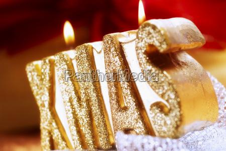 primo piano close up religione candela