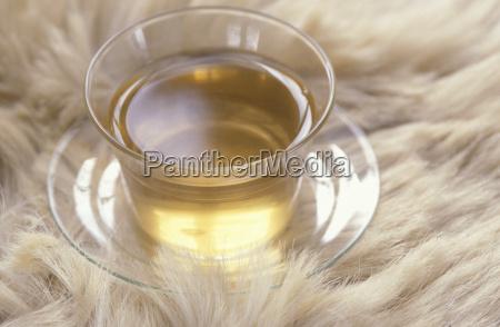 natura morta bicchiere te tea primo