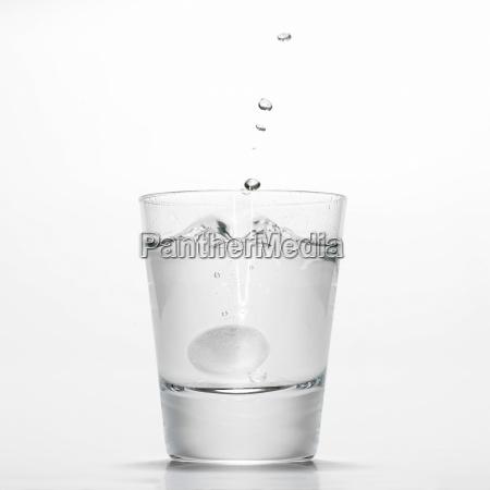natura morta bicchiere salute bere ristoro