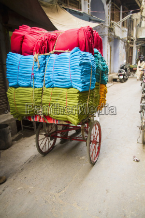 traffico india piegato allaperto fotografia foto