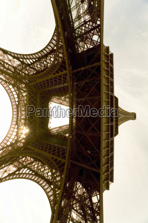 francia parigi torre eiffel vista dal