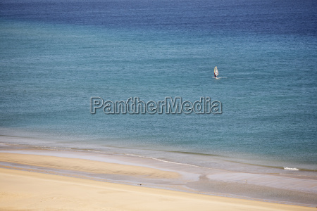 spagna isole canarie fuerteventura jandia windsurfer