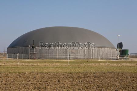 germany baden wurttemberg fellbach biogas plant