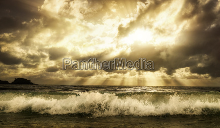 drammatico onda emozione acqua salata mare