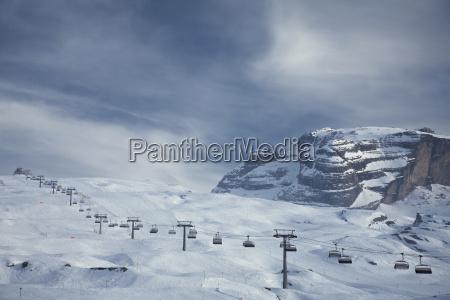 montagne inverno traffico europa allaperto valle