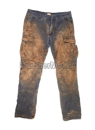 marrone nero pantaloni sporcizia sporco abbronzatura