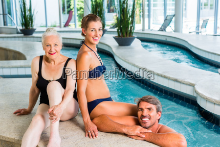 women relaxing in wellness spa