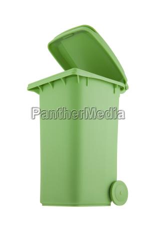 oggetto bio ambiente rilasciato cestino appartato