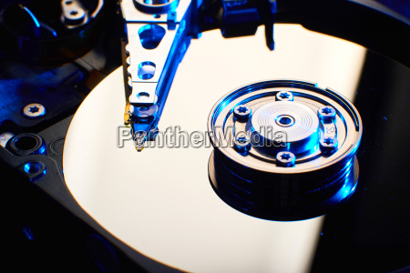 harddiskdrive del computer convenzionale