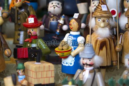 figurine decorative di natale dettagliatamente