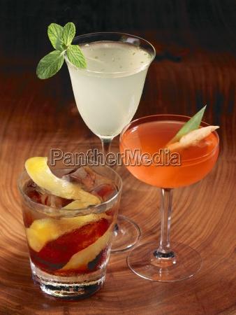 alcuni bevande bere alcool tre bibita