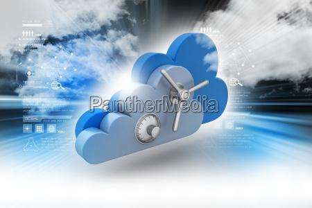 concetto di sicurezza dei dati nel