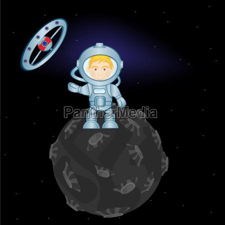 spaceman sul pianeta