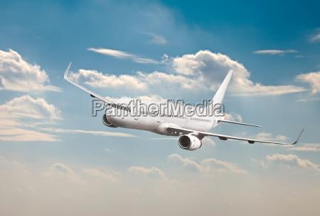 velivoli di passeggero mid air