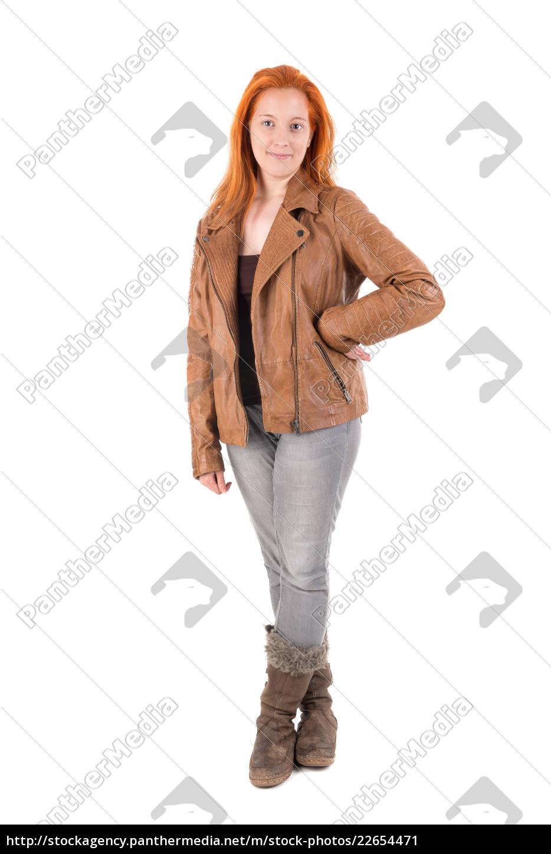 ragazza, capelli, rossi - 22654471