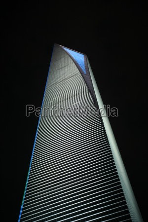 notte porcellana shanghai world financial center