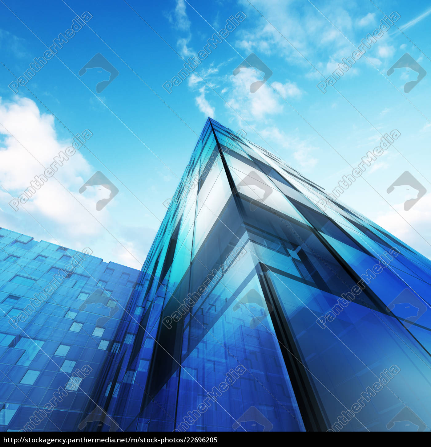 abstract, architecture, 3d - 22696205