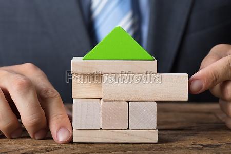 casa costruzione bio amichevole uomo daffari