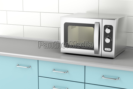 silver, microwave, oven - 22710883