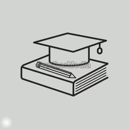 icona di formazione tappo di graduazionesimbolo