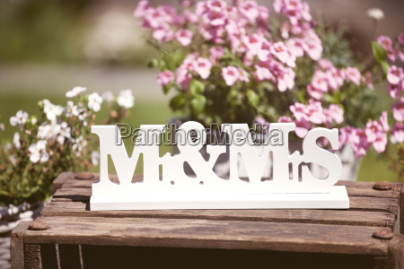 wedding mr mrs