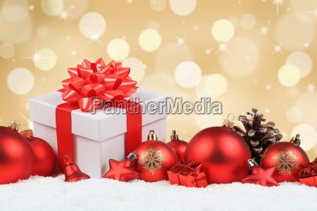 natale regali natale regali oro decorazione