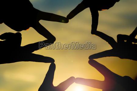 messaggio di unita pace e tranquillita