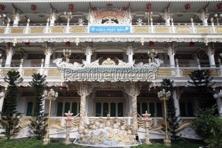 tempio buddista di chua phat baoho