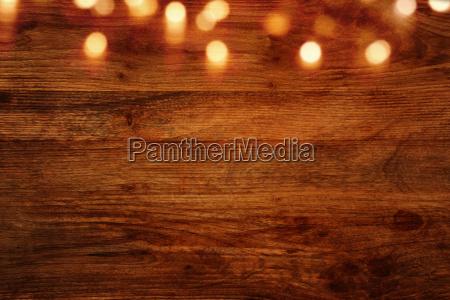 legno avvento decorazione di legno fondale