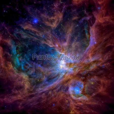 spazio via lattea galassia immagine foto