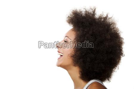 donna risata sorrisi bello bella ritratto