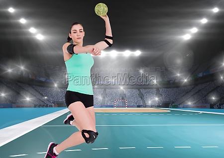 donna sport dello sport gioco giocato