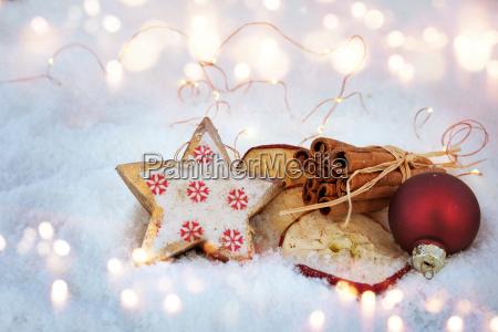 inverno avvento decorazione ingredienti infornare fragranza