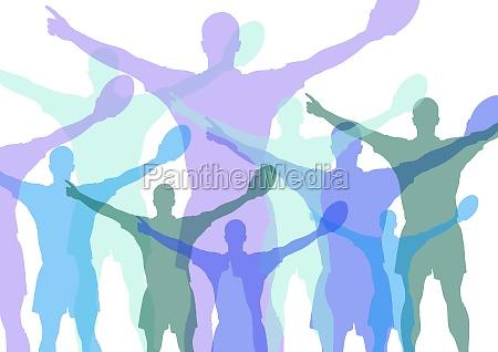 sport dello sport atleta silhouette sport