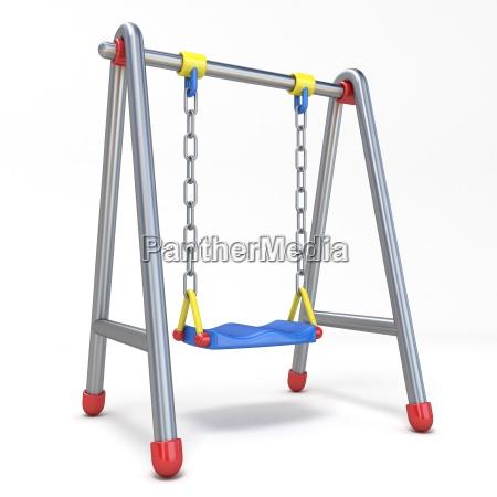 blu oggetto singolo tempo libero gioco
