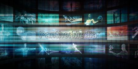 applicazione servizi divertimento torrente canale reti