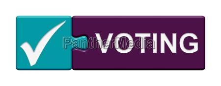 puzzle button shows voting