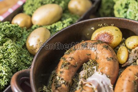 germania del nord cucina casalinga cavolo